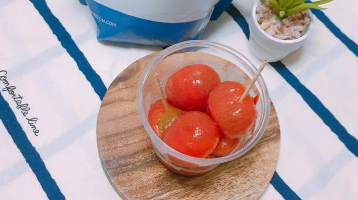 まるでスイーツ! BCAAで作るミニトマトのピクルス