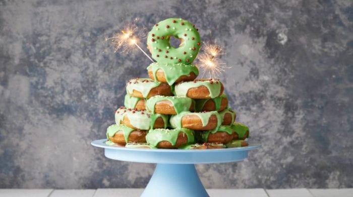 Savršen recept za Proteinske Krafne | Božićno Donut Drvce