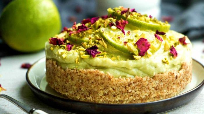 Cheesecake od Limete i Avokada | Cheesecake Bez Pečenja