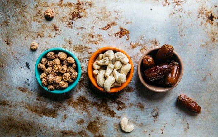 helppo välipala pähkinät