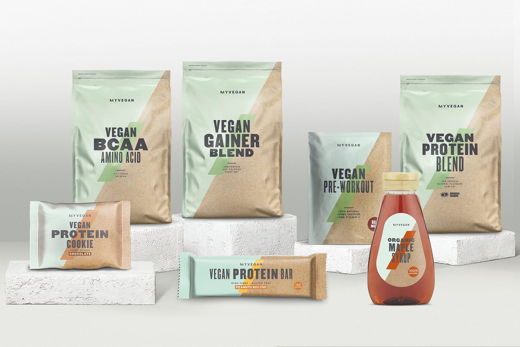 Kiinnostaako vegaaniruokavalio? Tutustu uuteen Myvegan‐tuotevalikoimaan