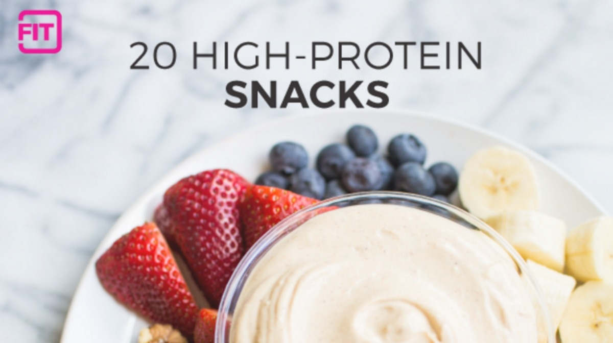 20 Healthy High Protein Snacks to Keep You Full!