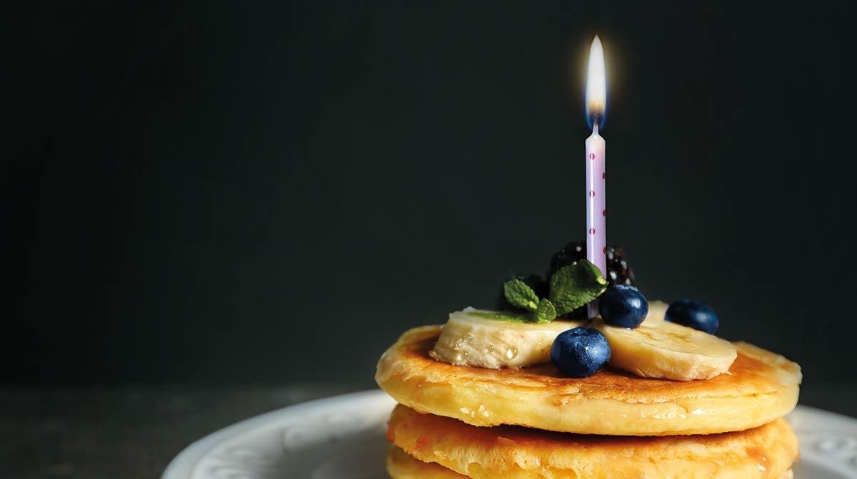 Vanilla Protein Pancakes!