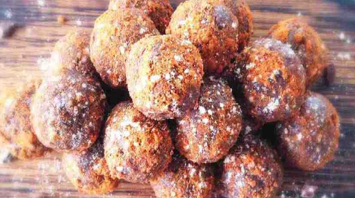 chai protein and almond balls