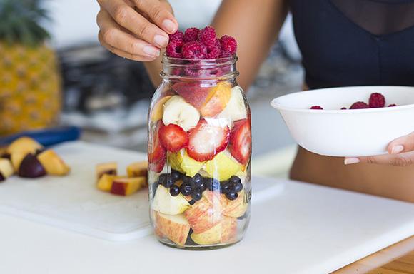 iifym women stacking fruit idealfit