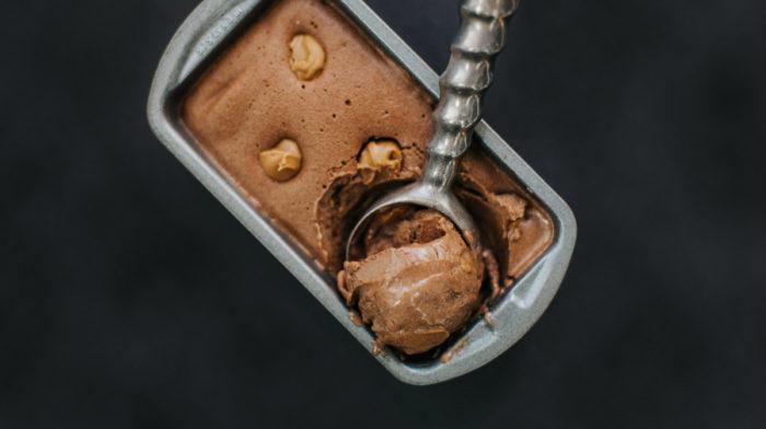Chocolate & Peanut Butter Protein Ice Cream