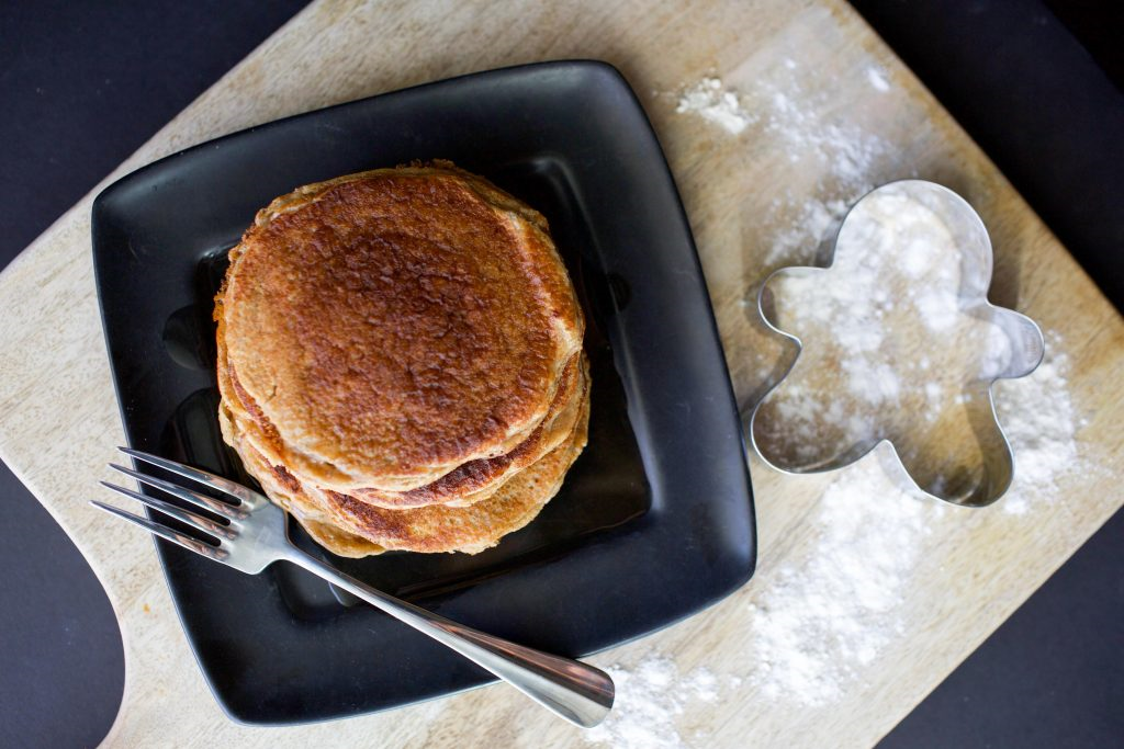 idealfituk gingerbread protein pancakes
