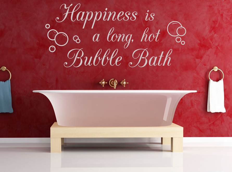 Valentine's Day activities bubble bath IdealFit