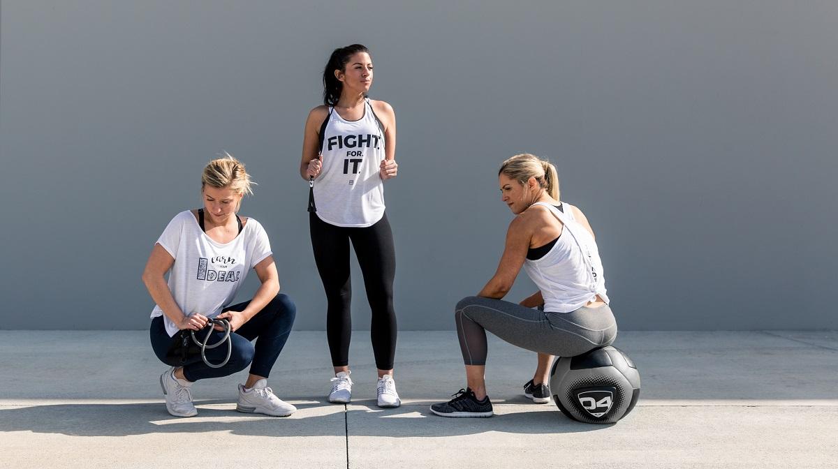 Sports Supplements for Women - 3 women exercising IdealFit