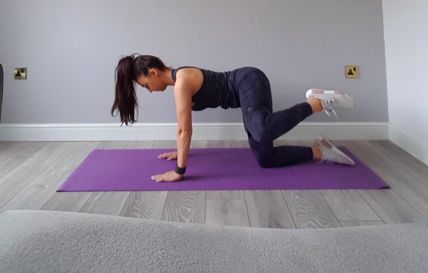 activate glutes side leg raises
