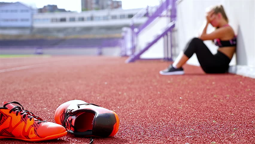 tired athlete
