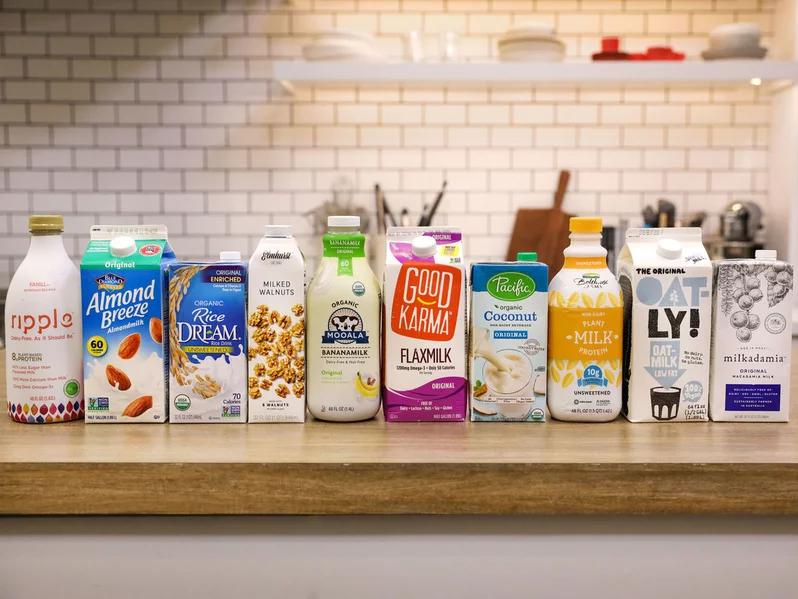 The Best Dairy Free Milk Alternatives | Pros & Cons