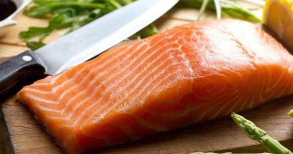 Saumon alimentation prise de masse