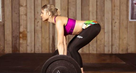 Femme fitness, Soulever de terre