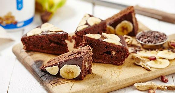 choc-banana-protein-cake