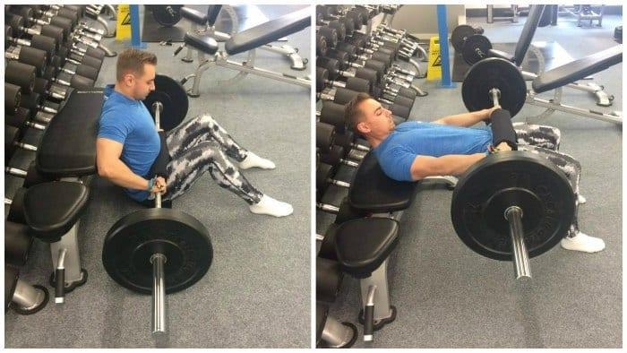 fessiers exercices fessiers hip thrust fente arrière 1