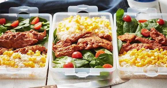 Nutrition | Menu spécial prise de masse et prise de muscles