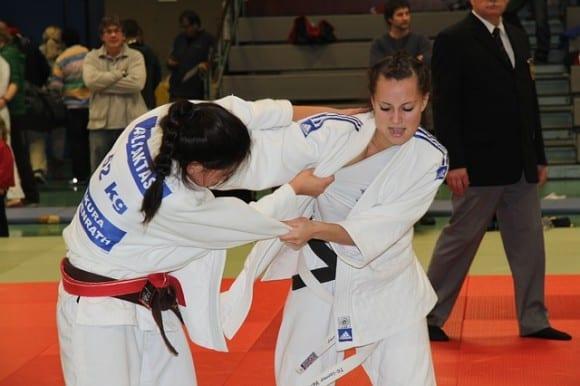 judoka-femme-entrainement
