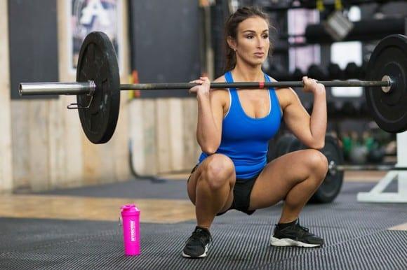 front-squat-femme