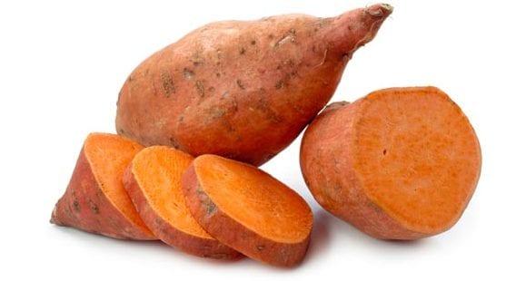 les patate douces sont très riche en potassium