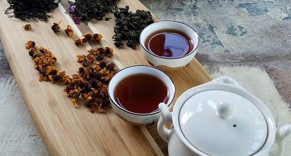 thé noir, thé vert