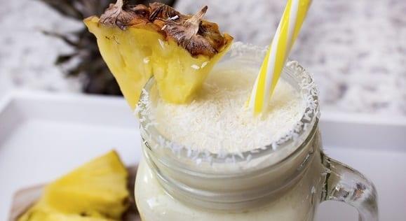 recette à l'ananas et à la noix de coco