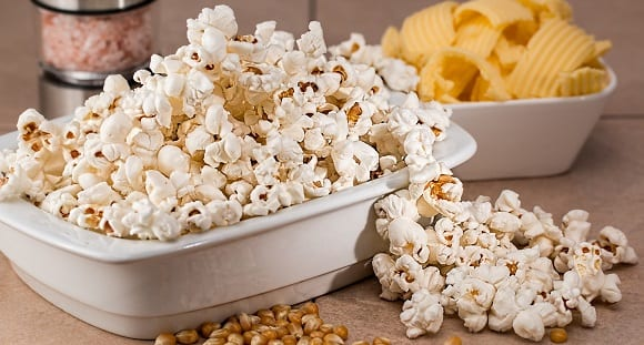 le popcorn, collation saine (3)