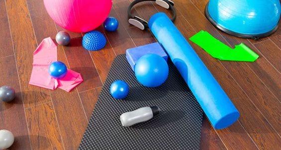 Du matériel pour des exercices au poids de corps