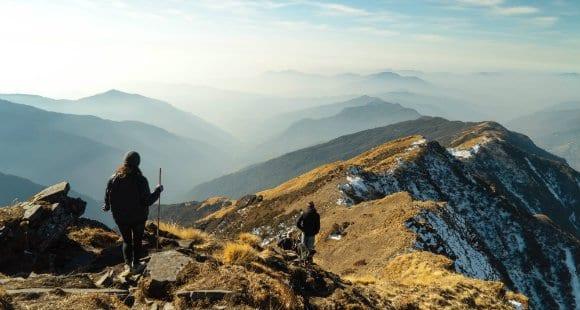 randonnée en altitude