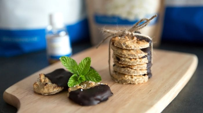 Sablés Protéinés au Chocolat par Fitiscook