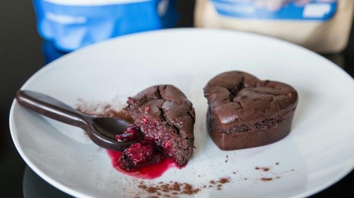 Moelleux au chocolat, cœur fondant aux fruits rouges
