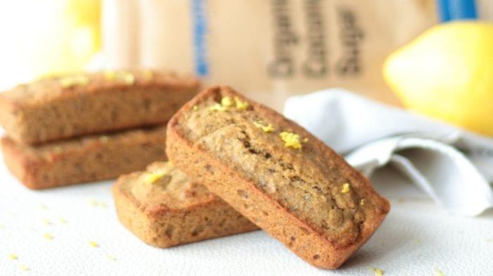 Cakes au citron et au pavot  |  Sans gluten