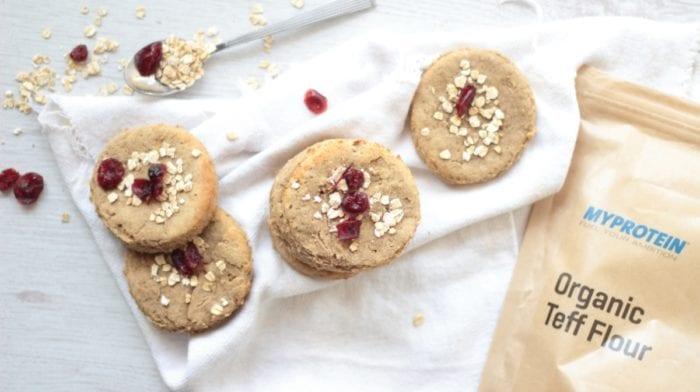 Biscuits protéinés à la banane  |  Recette Vegan
