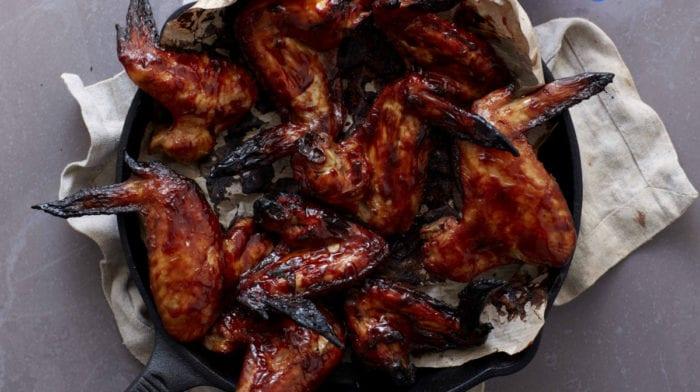 Recette d'ailes de poulet au citron vert et à la sauce barbecue miel