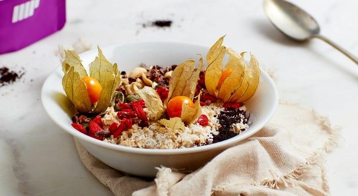 porridge rempli de super-aliments