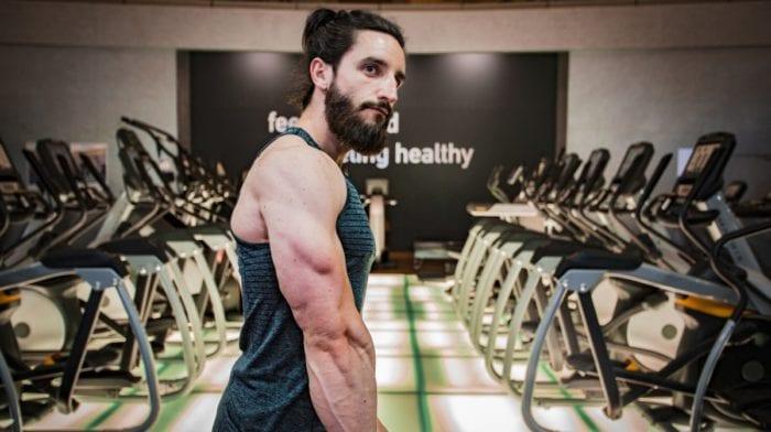 Entraînement triceps avec Lucas Gouiffes