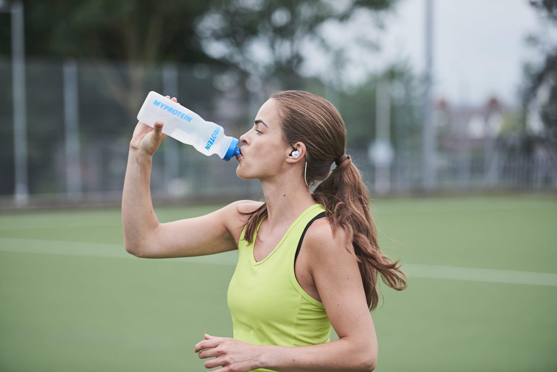 Boire beaucoup d'eau Gabriella Darlington