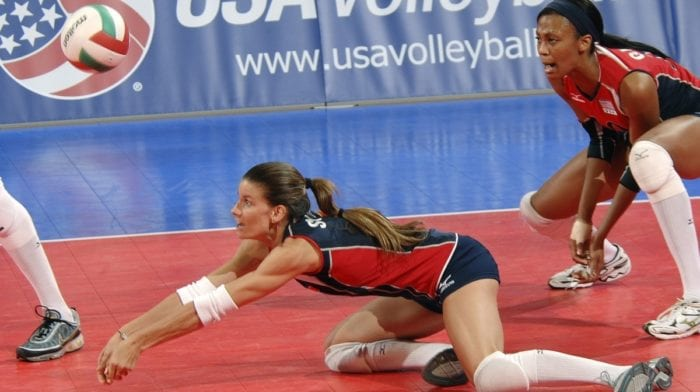 Devenez fort et sec à la manière des joueurs et joueuses de volleyball