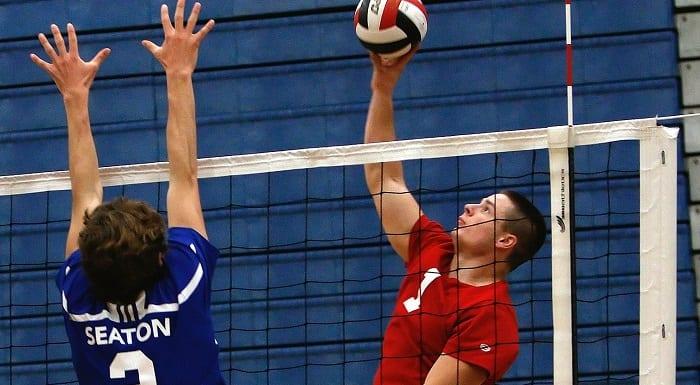 attaque volleyball masculin