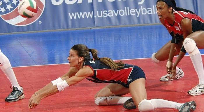 manchette volleyball féminin