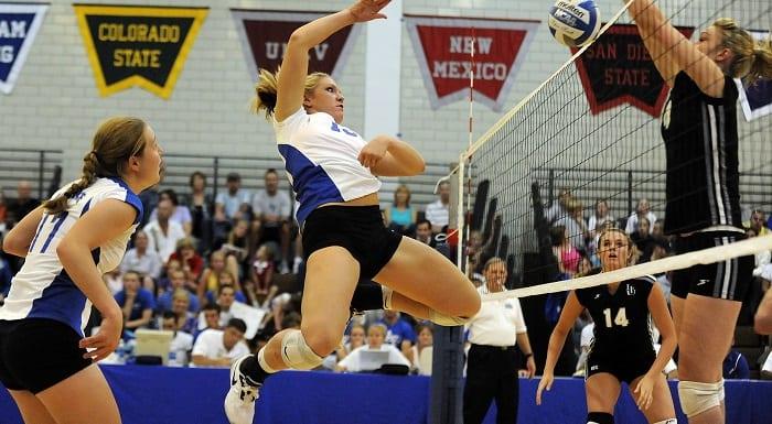 attaque volleyball féminin
