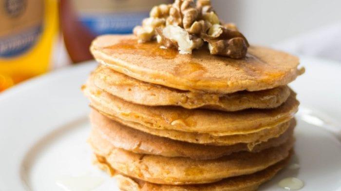 Pancake à la patate douce pour tous : Version sucrée et version salée