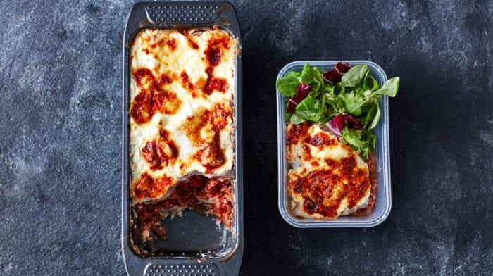 Lasagnes pour sportifs | Meal Prep pour 3 jours pauvre en glucides