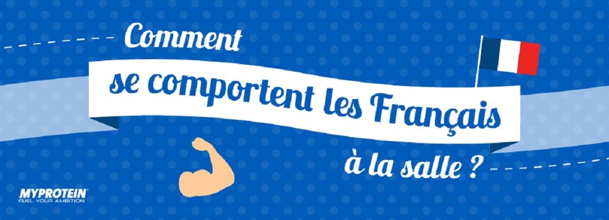 Infographie – Comment se comportent les Français à la salle?