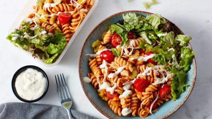 Salade de Pâtes et Poulet | Meal prep de 3 jours !