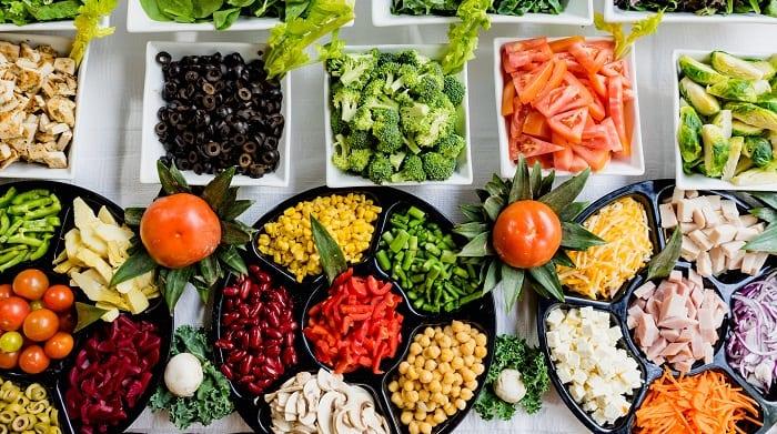 Légumes -prendre du muscle