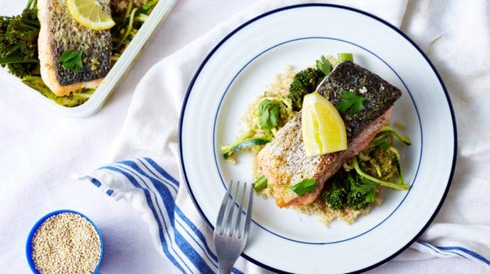 meal prep saumon