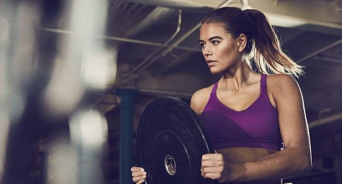 poids lourd musculation femme