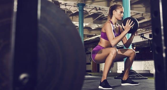 squat avec poids