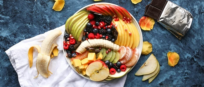 fruits dessert healthy